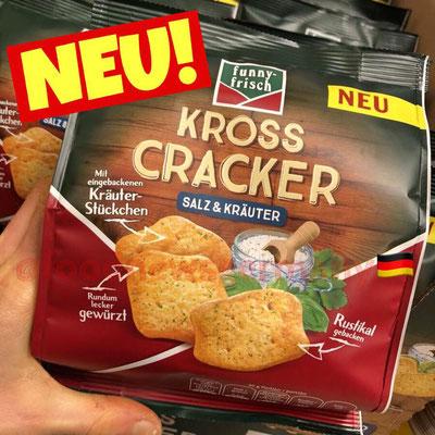 Funny Frisch Kross Cracker Salz & Kräuter