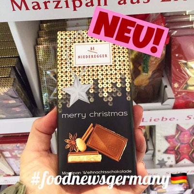 Niederegger Marzipan Weihnachtsschokolade