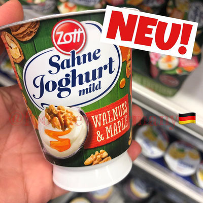 ZOTT SAHNE JOGHURT WALNUSS & MAPLE
