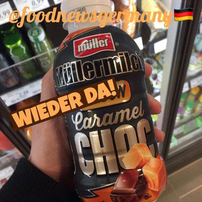 Müllermilch Saison Caramel Choc