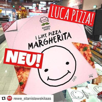 Gustavo Pizza Margherita Luca Pizza