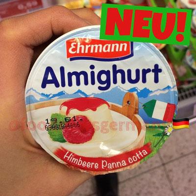 Ehrmann Almighurt Himbeere Panna Cotta
