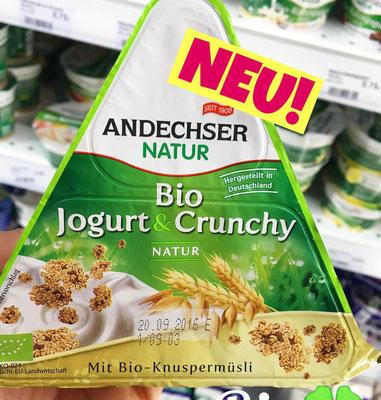 Anleger Bio Jogurt & Crunchy