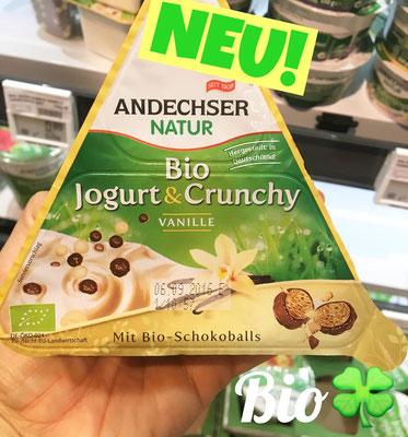 Andechser Bio Jogurt & Crunchy