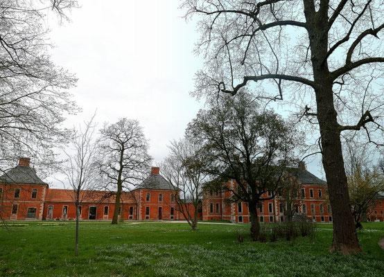 Blick auf Schloss Bothmer