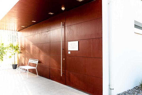 Eingangsbereich TCM Praxis Dr. Wenighofer