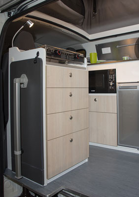 Hiace cooker cabinet