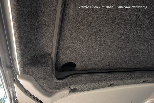 roof conversion inside view Reimo 280613 for Trafic X82