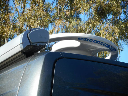 electric roof antenna Saturn and F65 Fiamma awning