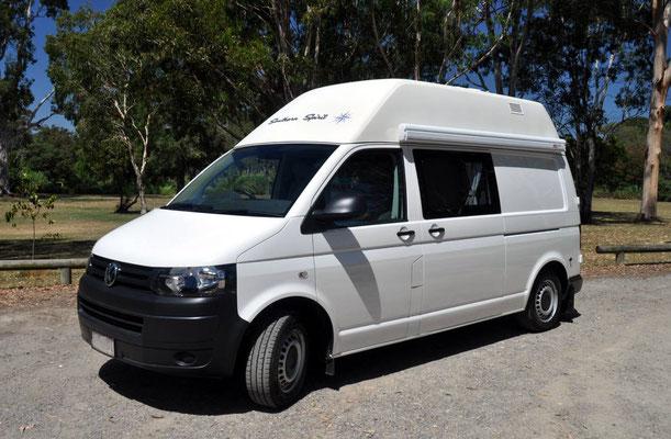 Volkswagen High roof Transporter model campervan