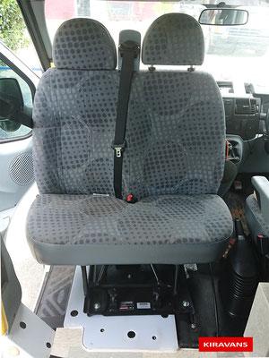 Kiravans Ford Transit double set swivel