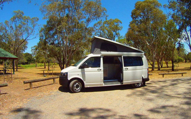 T4 Transporter 4motion campervan conversion