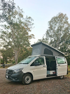 Mercedes Vito Campervan by Siouthern Spirit Australia