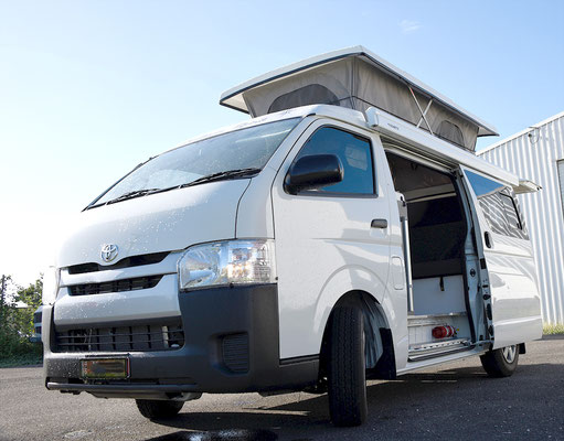 Hiace Campervan with Dometic awning