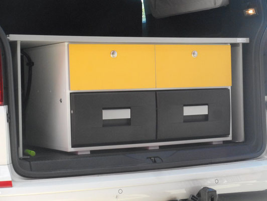 storage and fidge unit for Multivans and Caravelle