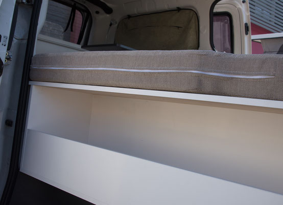 storage under bed to reach from driver side