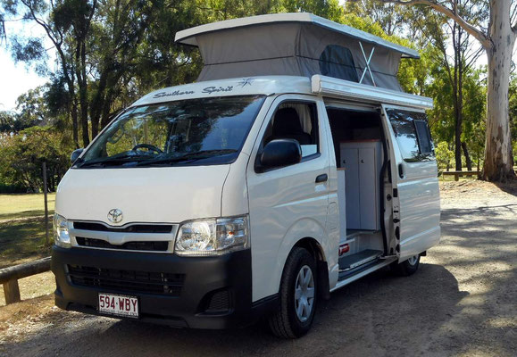Hiace Campervan by Southern Spirit