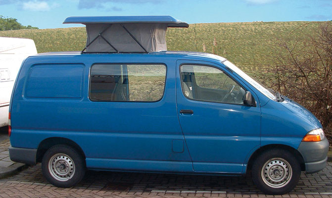 various half sized roofs for smaller vans