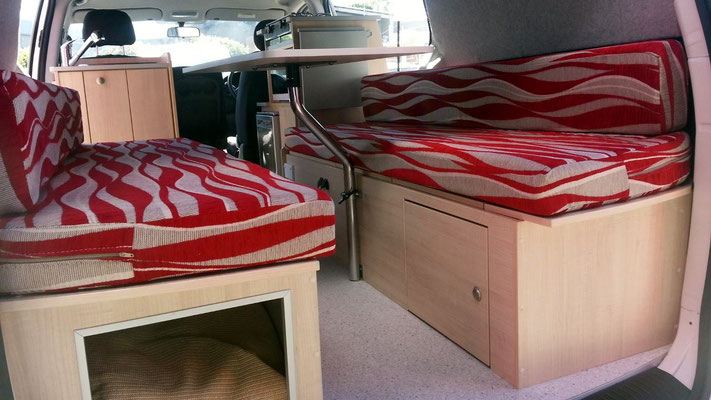 benches to convert in double bed