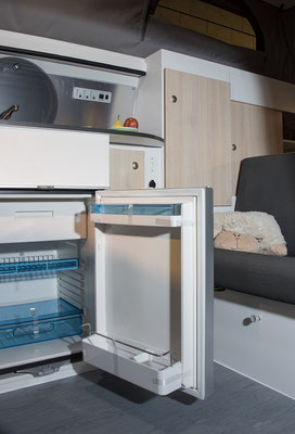 spacious Waeco / Dometic compressor fridge