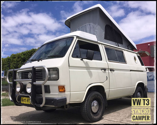 VW T3 Syncro Camper roof Westfalia style