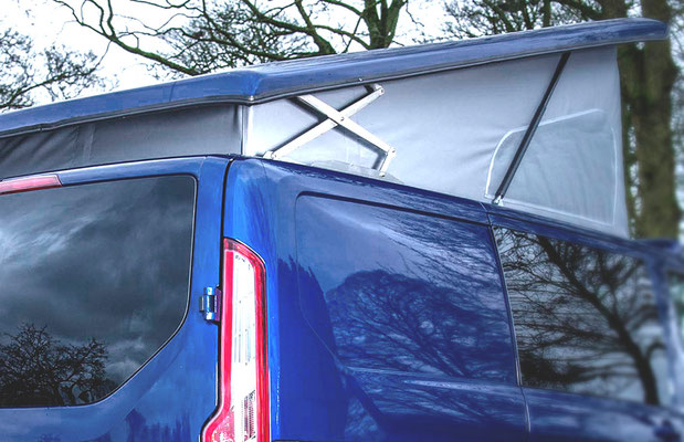 Easy to lift campervan roofs