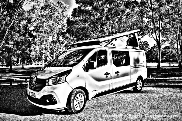 Renault Trafic 2014 onwards with Campervan roof conversion Reimo