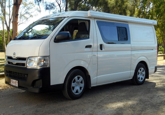 Compact and reliable - The Toyota Hiace Campervan