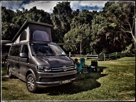 SWB Volkswagen camper van with Euro roof to sleep 4 people