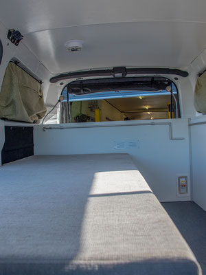 large single traveller fixed bed