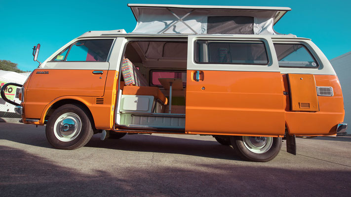 Retro - vintage Hiace campervan fully restored