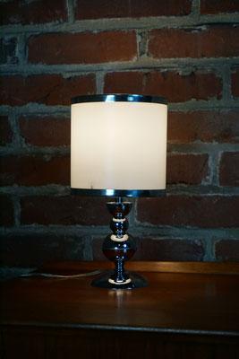 Lampe vintage chromée