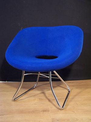 Fauteuil design bleu