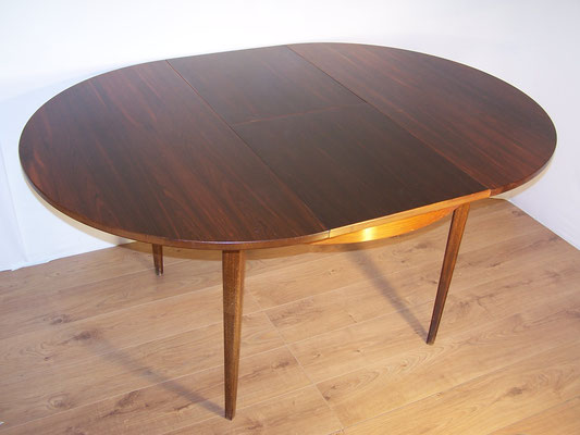 Table scandinave palissandre 1960