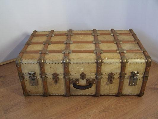 Grande valise ancienne majdeltier boutique en ligne - Valise en bois ancienne ...