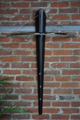 Porte manteaux design en métal et chrome
