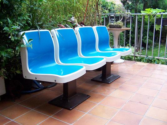 fauteuils de Bowling 1950-60