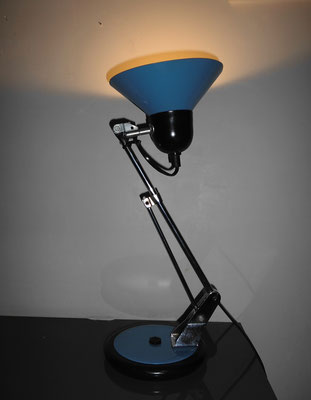 Lampe Aluminor bleu