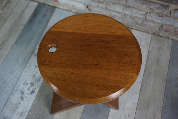 Tabouret pliant en bois design Roger Tallon modèle TS