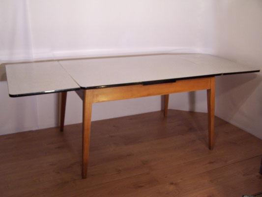 Grande table Formica, vintage