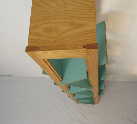 Bibliothèque design scandinave, minimaliste