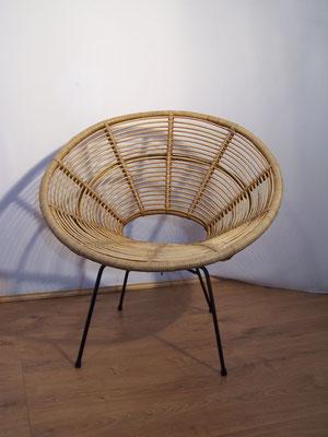 Fauteuil soleil par Janine Abraham 1950