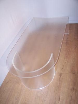 Table basse vintage Altuglass