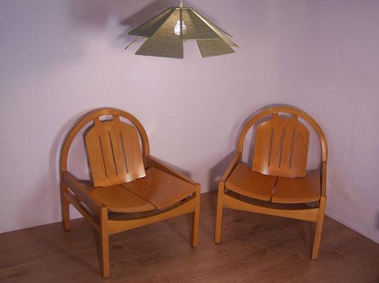 Fauteuils lounge Baumann