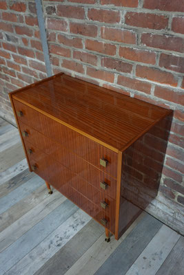 Commode glossy années 60
