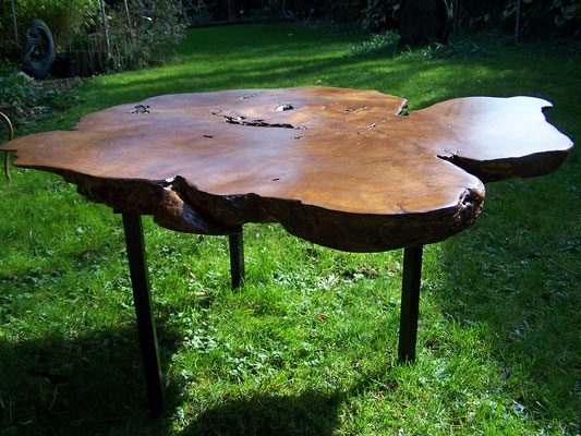 "Table basse "" Tree Trunk "" tripode XL"