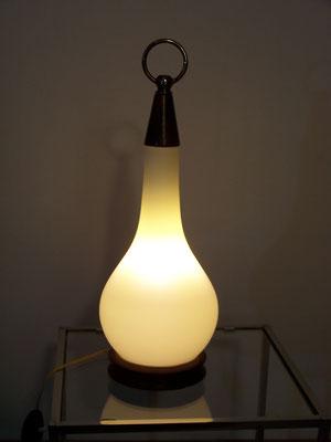 Lampe scandinave, opaline Goutte d'eau