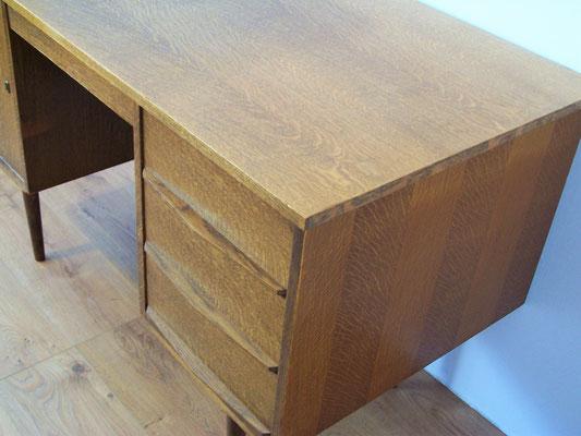 Bureau en chéne années 50 design scandinave