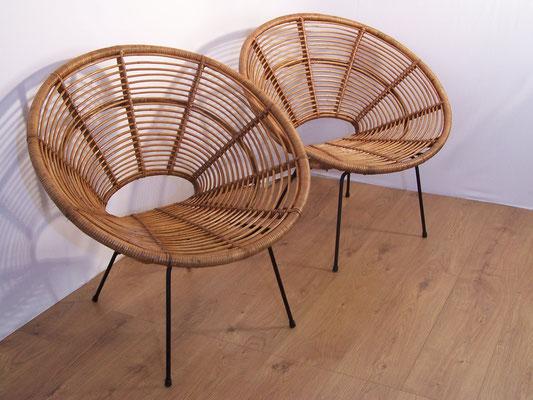 Paire de fauteuils Soleil de Janine Abraham et Dirk Jan Rol