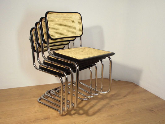 Chaises style Marcel Breuer